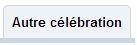 autre célébration