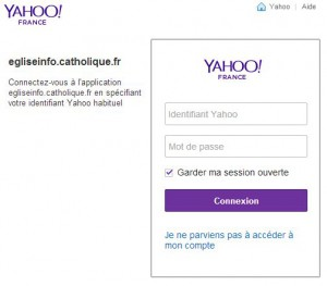 identification Yahoo